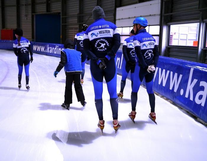 schaatstraining