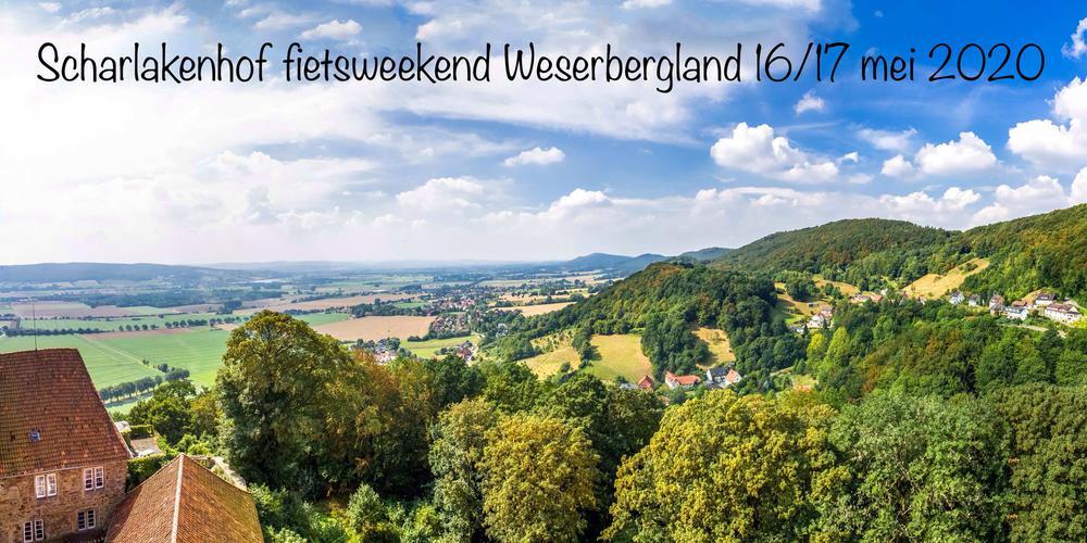 Fietsweekend in het Weserbergland op 16/17 mei